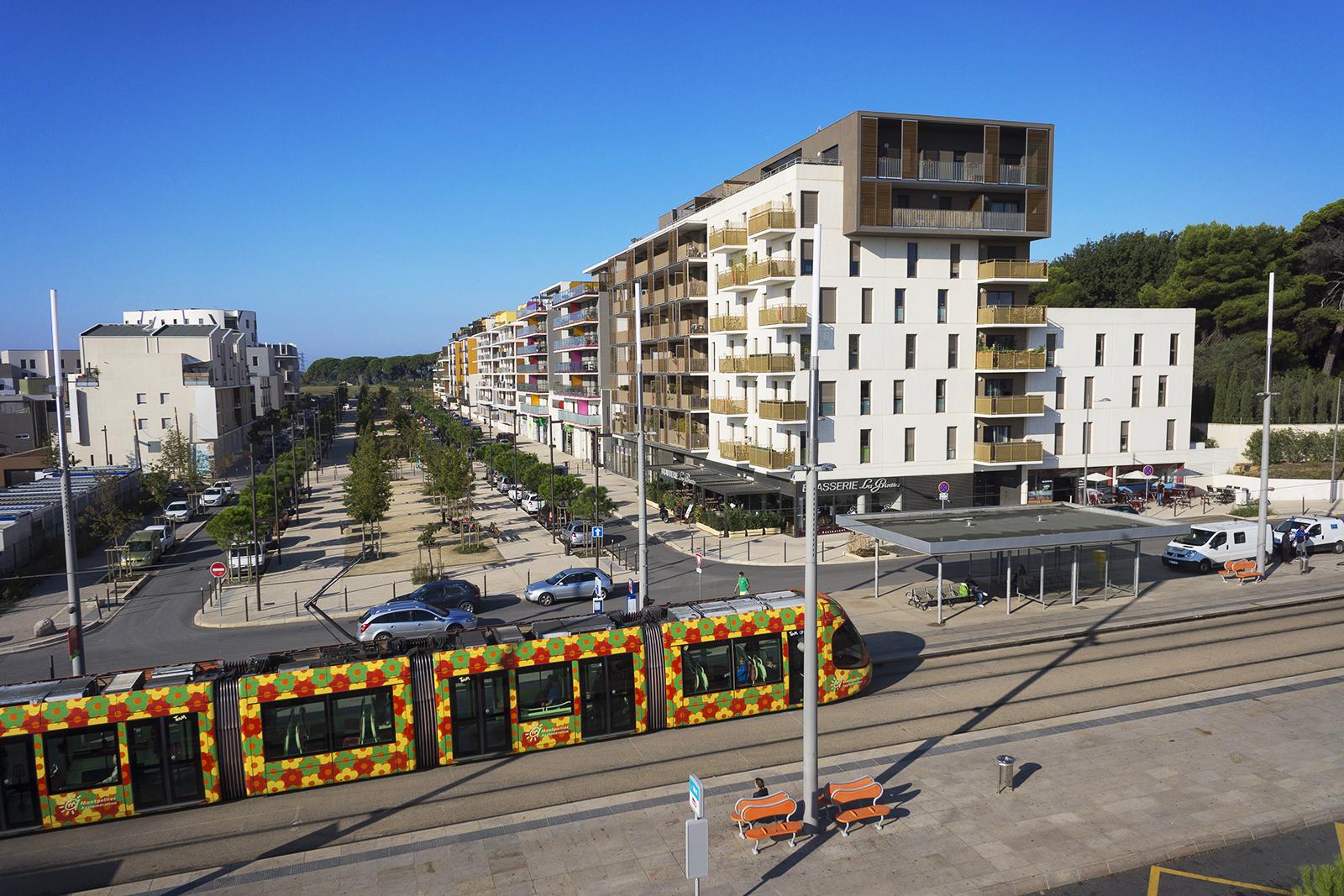 Photo aérienne promotion immobilière