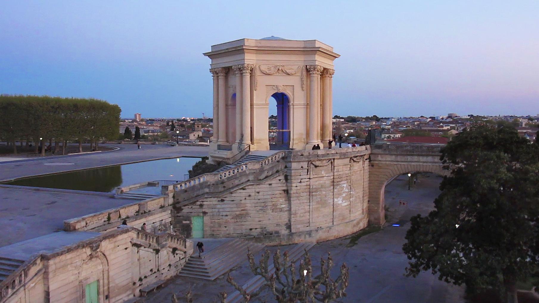 vidéo aérienne par drone, photographie aérienne architecture Montpellier