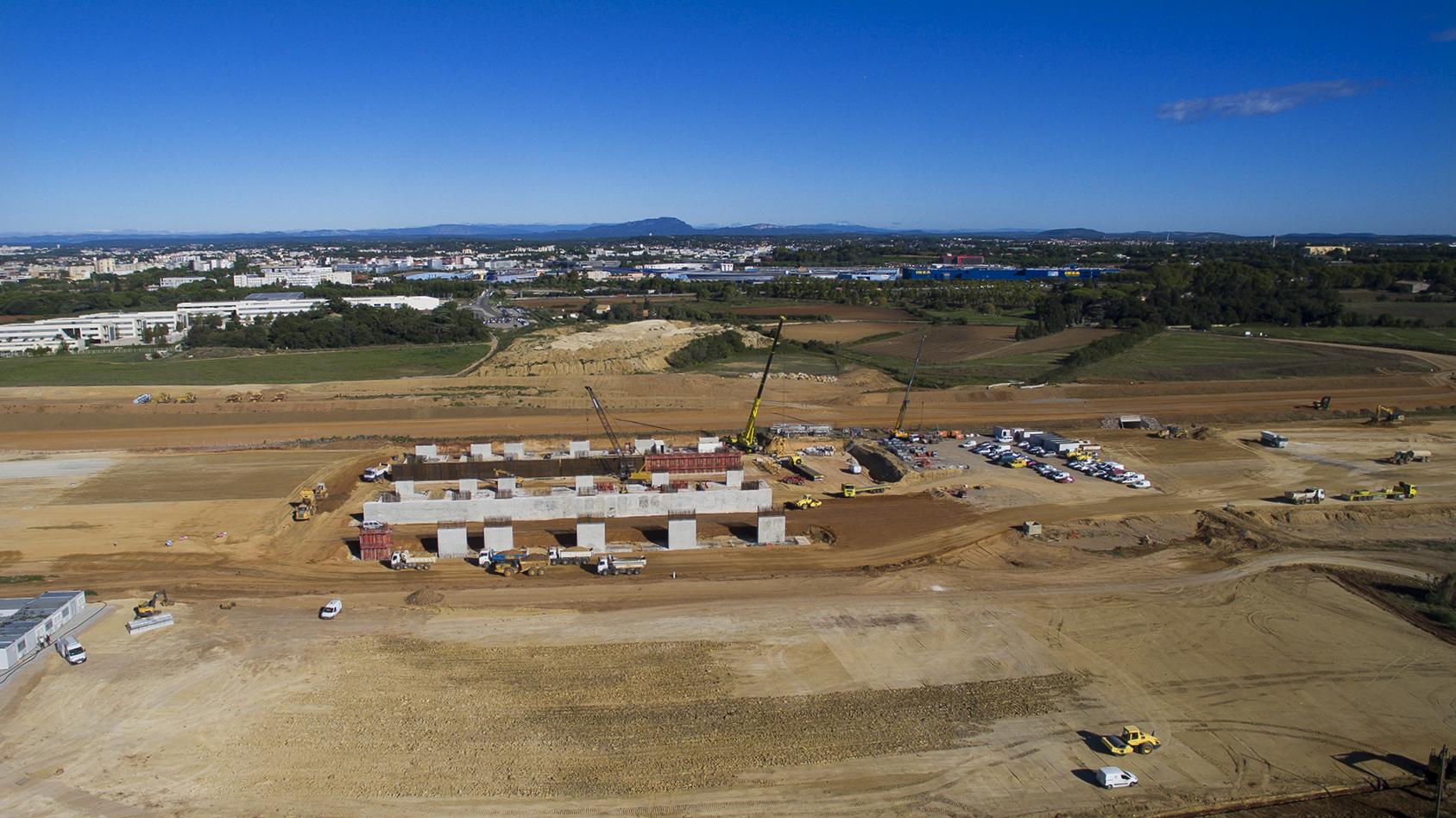 vidéo aérienne de suivi de chantier
