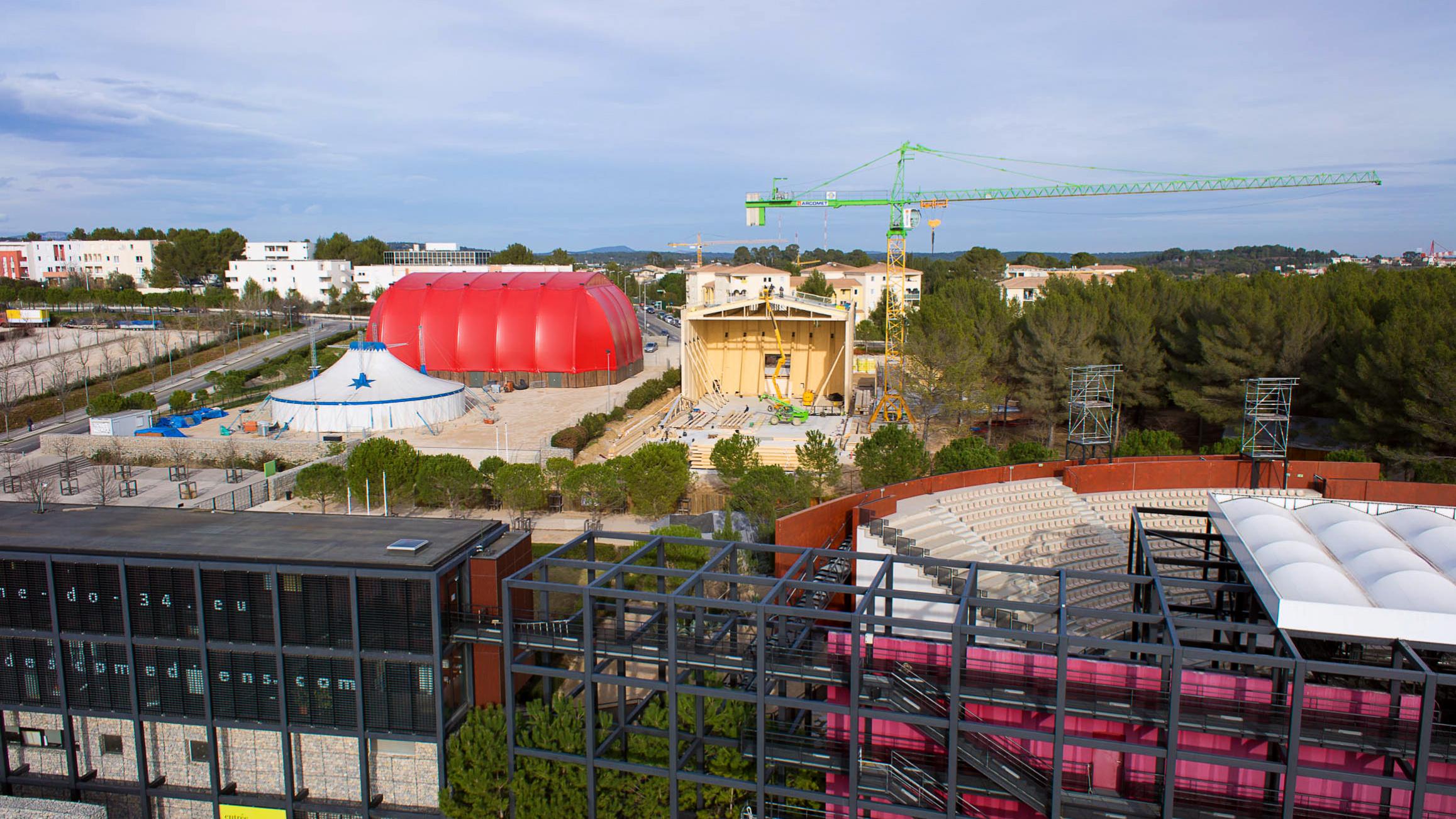 Photographie aérienne Montpellier