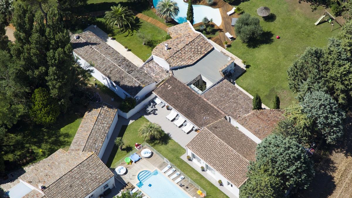 Vidéo aérienne pour la promotion immobilière