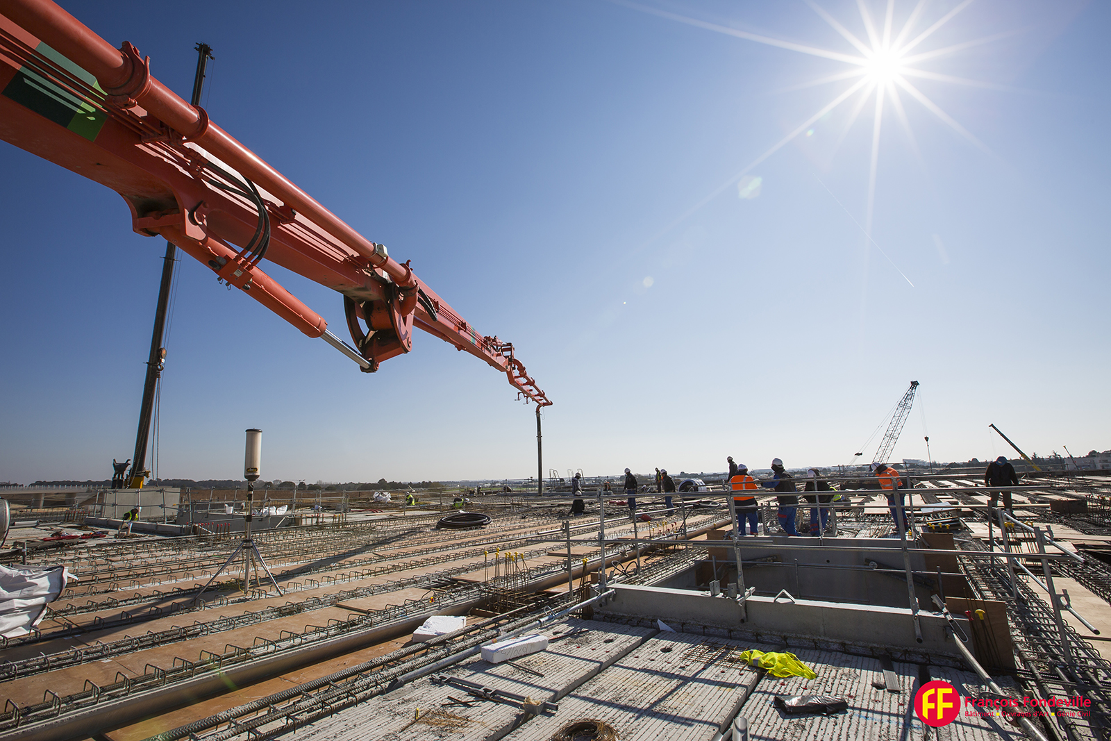 Reportage photo de suivi de chantier