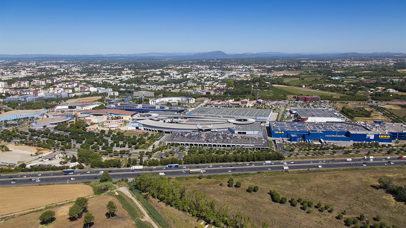 photographie aérienne pour l'urbanisme.
