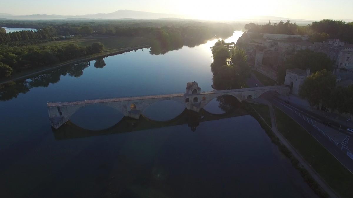 Photo aérienne pour le tourisme