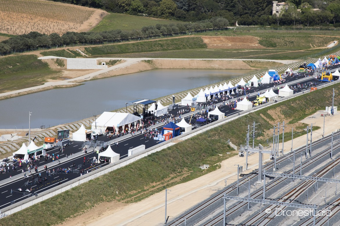 Inauguration A9 Montpellier