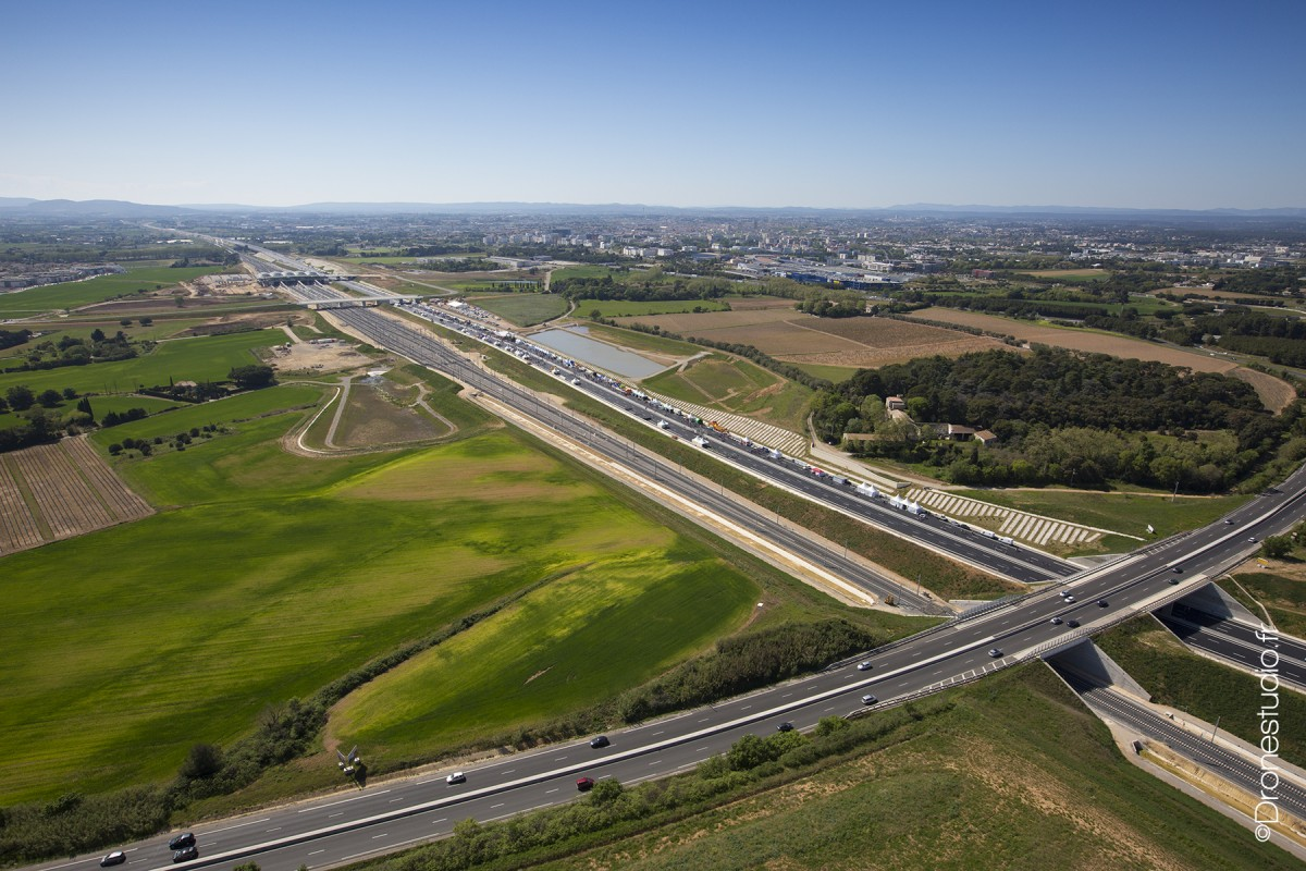 Inauguration du contournement A9 Montpellier