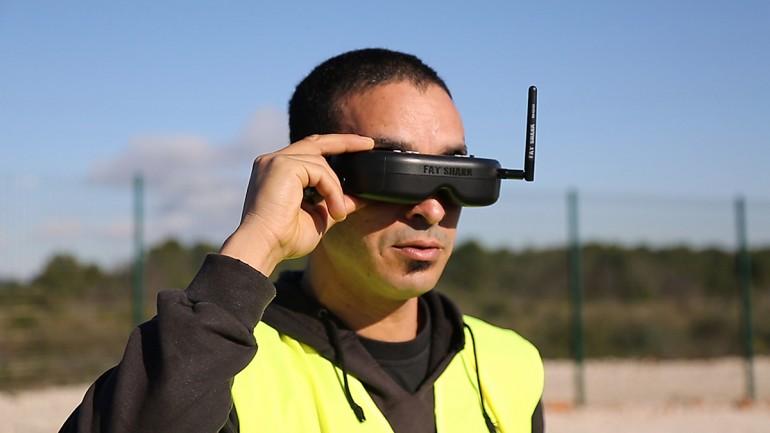 pilotage drone à Montpellier
